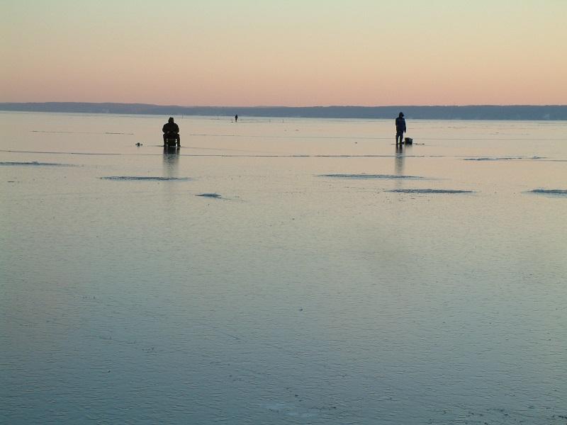 рыбалка +по первому льду