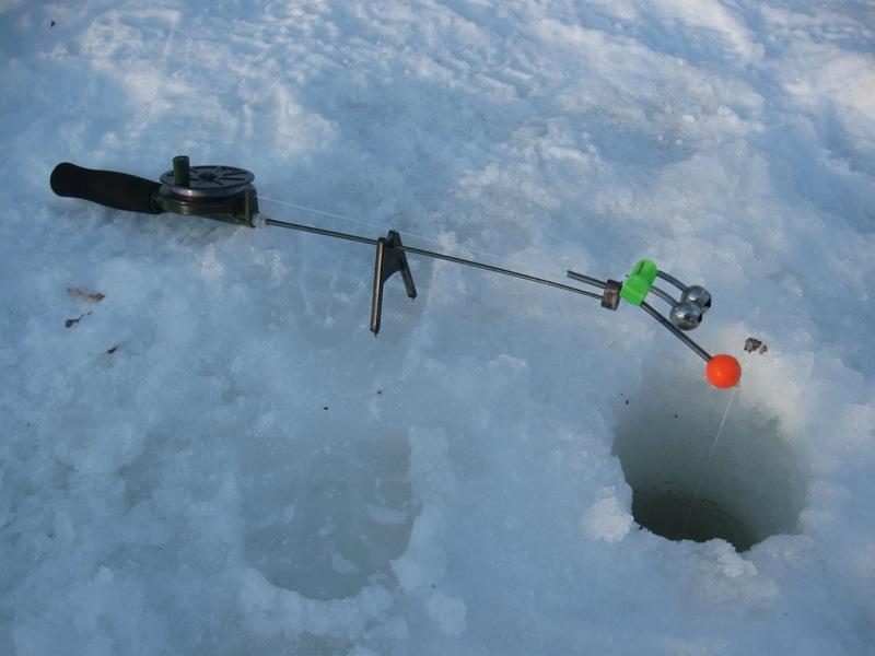 фидер со льда